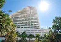 1 N Fort Lauderdale Beach Blvd, 1702 Fort Lauderdale, Fl. 33316 - MLS F10302591